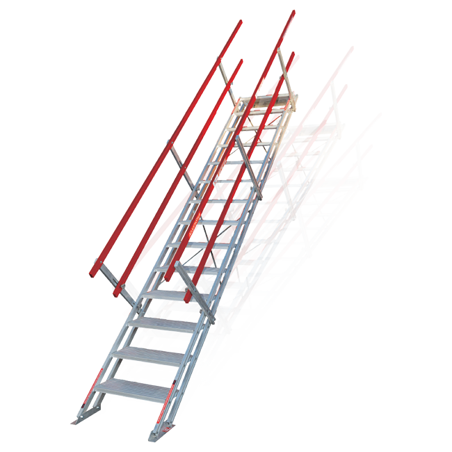 Innovative Portable Stair Design Safesmart Adjustastairs